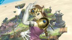 Annunciata anche la Principessa Zelda in Super Smash. Bros