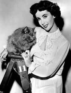 Elizabeth Taylor is listed (or ranked) 17 on the list 75+ Celebrities Who Are Cat People