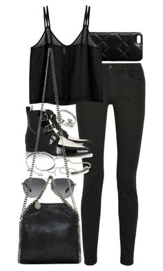 """""""Untitled #7606"""" by nikka-phillips ❤ liked on Polyvore featuring Marc by Marc Jacobs, Proenza Schouler, Monki, Jimmy Choo, Humble Chic, Cartier, Vita Fede, Monica Vinader, Coach and STELLA McCARTNEY"""