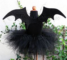 Bat Halloween costume.