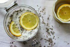 Lavender and Cypress foot soak recipe