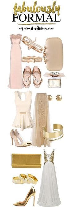 Fabulously Formal - My Newest Addiction .... Love all the gold / rose gold looks