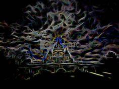 Sacré Cœur Neon by danubia at PhotoBtc.com