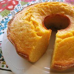 Brazilian Cornmeal Cake: Bolo de Fuba