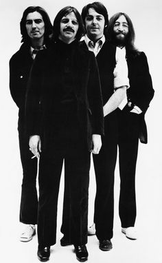 Four of the Coolest Guys who ever lived...George Harrison, Ringo Starr, Paul McCartney, and John Lennon.  The Beatles.  The fact that they existed, individually and as a group has made a lot of my life really great.  Their music together and separate form a big part of the soundtrack of my life.