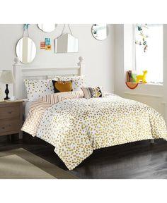 Confetti Reversible 4-Pc. Dot Twin/Twin Xl Comforter Set