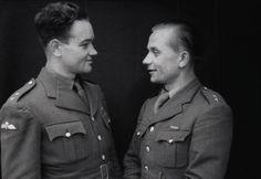 """Jan Kubiš and Jozef Gabčík./// killers of a """"Real Nazi"""" mass murderer."""