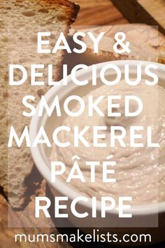 This is my family's smoked mackerel pâté recipe. It's a family tradition to serve this pâté as an appetiser at Christmas. But it is delicious any time of the year. Pate Recipes, Quick Recipes, Healthy Recipes, Smoked Mackerel Pate, Philadelphia Recipes, Christmas Planning, Healthy Family Meals, Christmas Appetizers, Health And Fitness Tips
