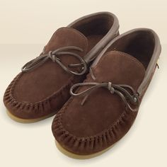 Men's Suede & Leather Moccasins with Sole 9016