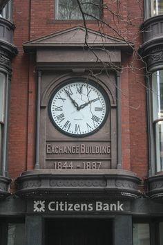 Clock Town, Big Clocks, Unusual Clocks, Banks Building, Antique Clocks, Telling Time, Wall Treatments, Towers, Mirrors
