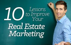 Learn the 10 real estate marketing strategies you should constantly revisit and improve upon to increase lead generation and grow your brand. http://plcstr.com/1fnrNpu  #realestate