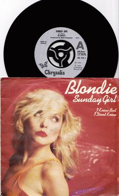 BLONDIE Sunday Girl 1979 Uk Issue Rare Original 45 rpm Vinyl Single Record Debbie Harry Pop new wave punk Parallel Lines Rare Records, Vinyl Records, Blondie Albums, Jesus Painting, Blondie Debbie Harry, Female Singers, Blondies, Music Publishing, Album Covers