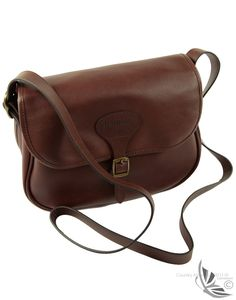 Barbour Ladies' Leather Beaufort Bag - Brown LBA0102BR71 - Bags - WOMEN'S | Country Attire