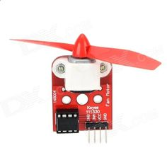 Keyes L9110 Fan Module for Arduino . Can control the positive and negative assembly with mounting holes, the steering rudder propeller disk compatible control in high quality, high efficiency; Lighter flame can easily blow out outside of the 20cm. Tags: #Electrical #Tools #Arduino #SCM #Supplies #Boards #Shields
