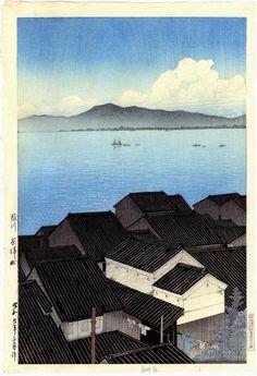 1934 - Hasui, Kawase - Okitsu-cho, Suruga