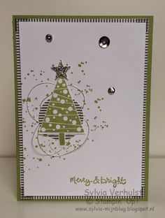 52 WTC:8 # Merry & Bright# Festival of trees Stampin' Up!
