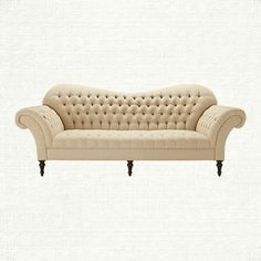 Tufted Sofa - Club Collection in {productContextTitle} from {brandTitle} on shop.CatalogSpree.com, your personal digital mall.