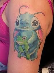 Bildergebnis für disney stitch tattoo