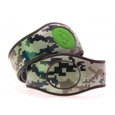 MagicBand 2.0 skin - Digital Camo Pattern | MagicYourBand.com