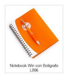 Notebook Win con Bolígrafo
