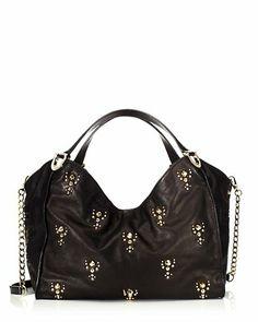 Topanga Leather Small Tote Bag