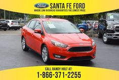 Used 2015 Ford Focus SE FWD Sedan For Sale Gainesville FL - 40156A Used Ford Focus