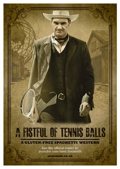A Fistful of Tennis Balls – Roger Federer – Us Open 2015 - Youtube link: http://youtu.be/FMcbDIYsTmg