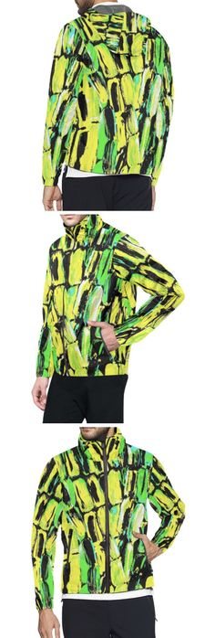 Caribbean colorful yellow black and green Jamaican Sugarcane print All Over Print Windbreaker for Men (Model H23 ) Fashion Designs like this jacket by @anoellejay Alicia Jones and @artsadd   Brooklyn artist featuring Environmental Beach Ocean Caribbean African designs / Go running in a design that has meaning even in the rainy cloudy weather / Also buy this artwork on other home products and accessories http://m.artsadd.com/store/anoellejay?sort=newest?rfsn=714731