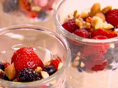 Get Muesli Parfaits Recipe from Food Network