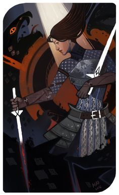 персонаж, dragon age, таро, заказ, кусланд More
