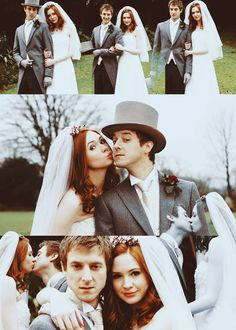 Amy and Rory's wedding