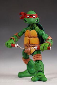 Teenage Mutant Ninja Turtles (comic based) action figures -
