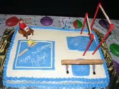 gymnastics birthday cake - Yahoo Image Search Results