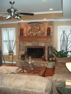 Synthetic Owens Corning Ashlar Fireplace luxury stone fireplace luxury stone fireplace #luxury #stone #fireplace