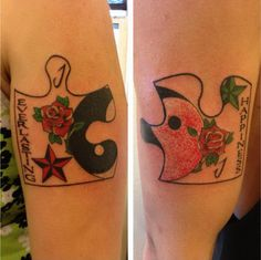 17 puzzle matching tattoos couples