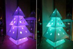 DIY Makedo Cardboard Christmas Tree