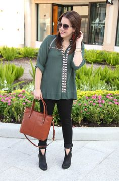 Houston Fashion Blogger, LadyinViolet shares a street style inspired fall outfit…