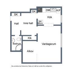 Un par de cambios y piso perfecto de 40 m²