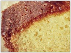 Star Thistle Honey Cake