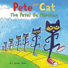 Cover image for Pete the cat. The Petes go marching
