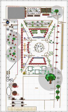 Garden Plan - 2013: ornamentaler Nutzgarten