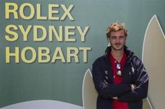 Pierre Casiraghi at the 2015 Sydney to Hobart race 26 December 2015