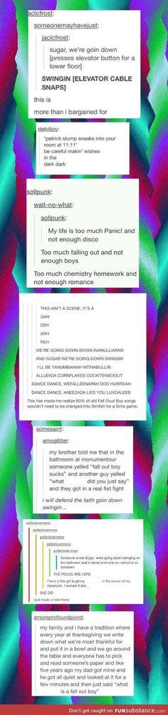 Music lyrics fall out boy posts 31 Ideas Fall Out Boy Tumblr, My Tumblr, Tumblr Posts, Tumblr Funny, Fall Out Boy Memes, Emo Bands, Music Bands, Fallout Boy, Band Memes