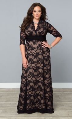 Screen Siren Lace Gown | dresses | Pinterest