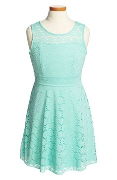 Trixxi Sleeveless Lace Dress (Big Girls) available at #Nordstrom