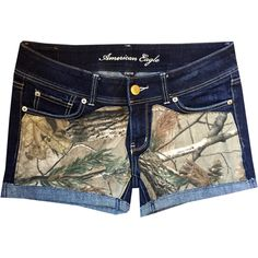 Hunting Camo Ap Realtree Shorts ($30) ❤ liked on Polyvore featuring shorts, black, women's clothing, camoflauge shorts, black shorts, camouflage shorts, stretch shorts and camoflage shorts