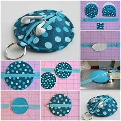 DIY Crafts - tutorial - perfect gift for that someone that has everything. Craft Tutorials, Sewing Tutorials, Sewing Projects, Sewing Patterns, Diy Projects, Mochila Tutorial, Pouch Tutorial, Diy And Crafts Sewing, Fabric Crafts