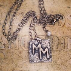 The Ranchers Wife Custom Brand Necklaces Fine by BlueWaterCowgirl