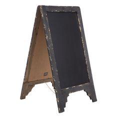 Rustic Black Chalkboard | Hobby Lobby | 323444