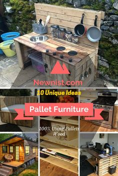 10 DIY Furniture Made From #Pallets Wood | NewNist